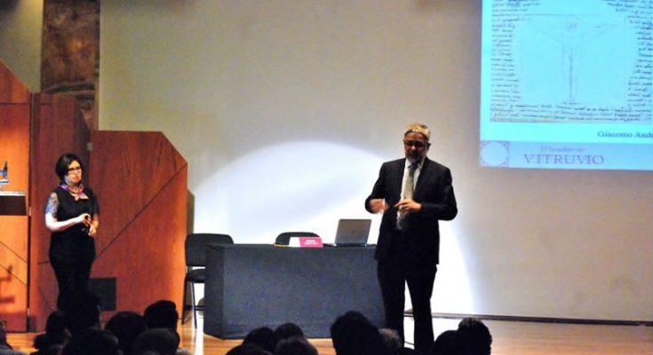 Analizan el tratado de arquitectura de Vitruvio en Palacio de Bellas Artes