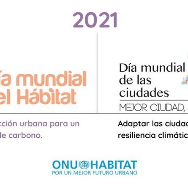 Anuncia ONU-Habitat temas de Día Mundial del Hábitat y de las Ciudades