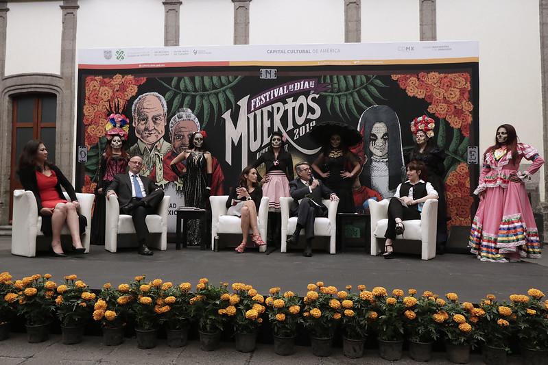 Anuncian programación de Festival de Día de Muertos 2019