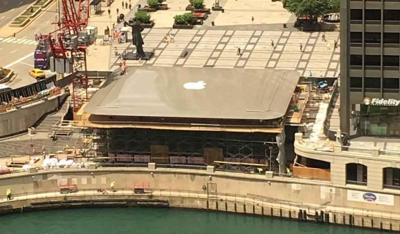 Nueva tienda de Apple luce como una réplica de Macbook