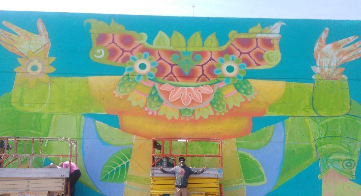 Central de Muros: La Ceda revive y se cubre de colores