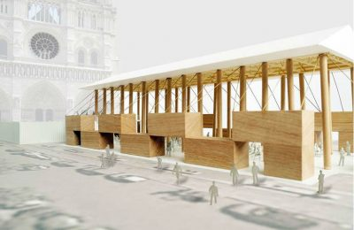 El Pritzker 2014 diseña capilla temporal para Notre Dame