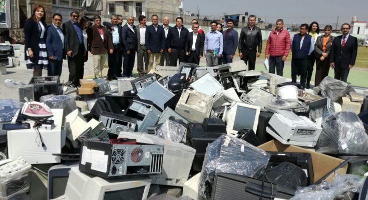 Arranca el Primer Reciclatón eléctrico y electrónico en el Edomex