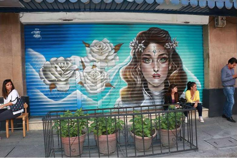 Transforman Centro Histórico de la CDMX en galería de arte urbano