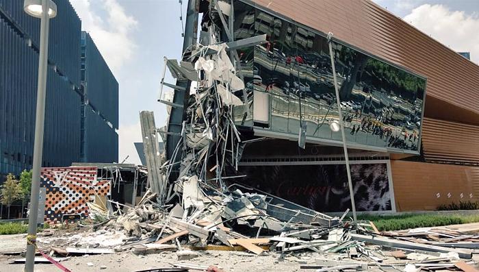 Mal diseño estructural, la causa del colapso en Artz Pedregal