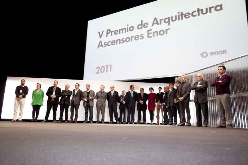 Presentan finalistas del Premio de Arquitectura Ascensores Enor 2017