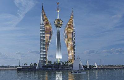 Así será Djibouti Towers, el complejo de rascacielos más alto de África