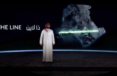 Así será The Line, la nueva ciudad del futuro en Arabia Saudita