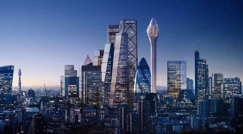 Así será The Tulip Tower, el nuevo rascacielos de Foster + Partners
