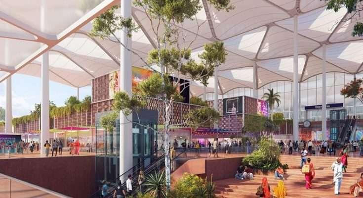 Así será el aeropuerto más moderno y ecológico de la India