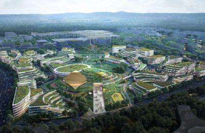 Así será la nueva ciudad de ciencia y tecnología de Chengdu, China
