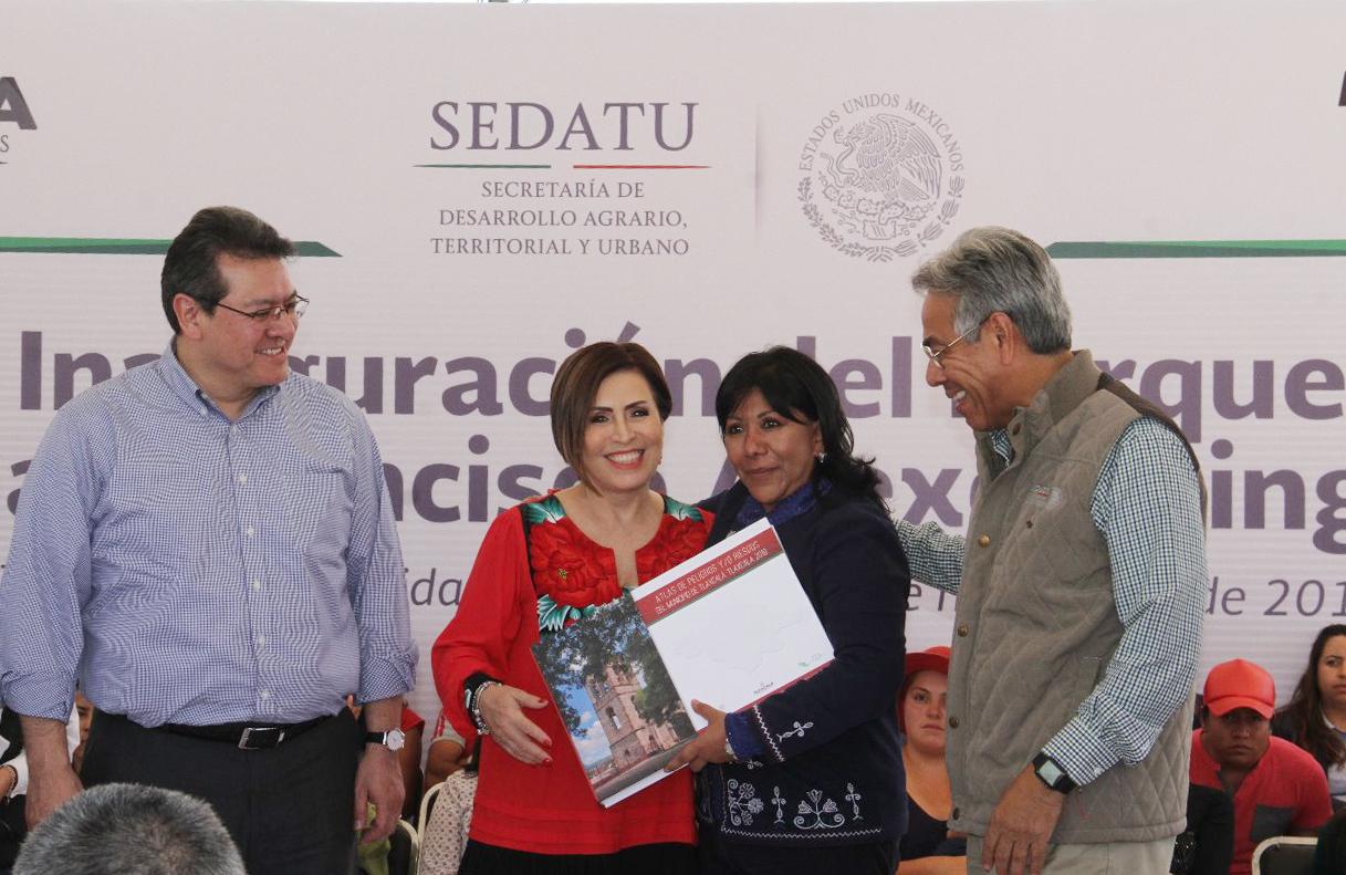 Sedatu entrega Atlas de Riesgo del municipio de Tlaxcala