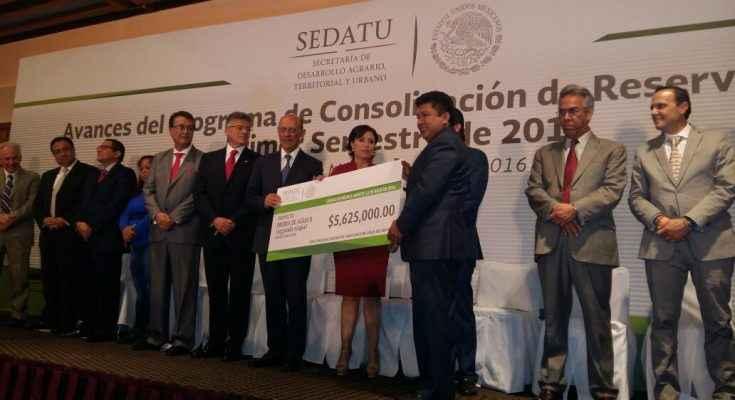 Presentan avances del Programa de Consolidación de Reservas Urbanas