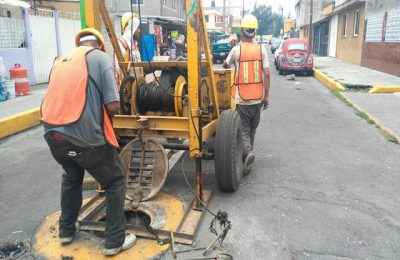 Iztapalapa ha desazolvado más de 679 kilómetros de drenaje