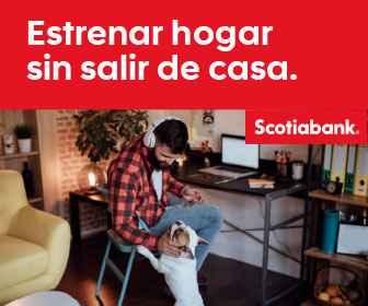 Banner de la Campaña estrenar hogar sin salir de casa de Scotiabank