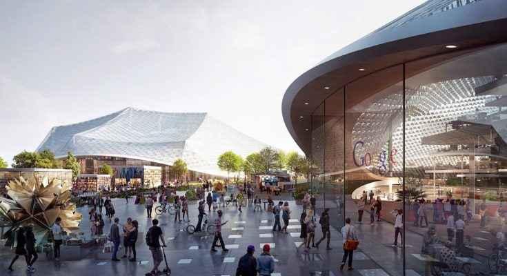 Presentan diseño de las oficinas centrales de Google en Londres
