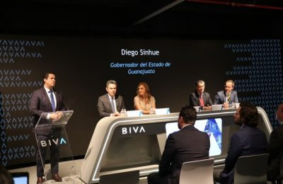 Guanajuato busca financiar proyectos en BIVA
