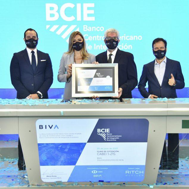 BCIE emite en BIVA el primer bono social de recuperación por Covid-19