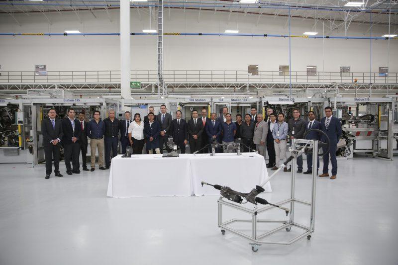 Inauguraron primera planta de Bosch en el país