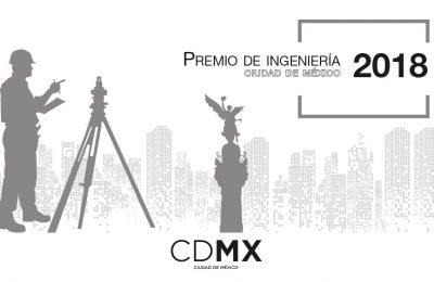Manuel Díaz Canales es ganador del Premio de Ingeniería CDMX 2018