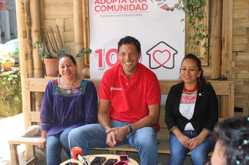 Entregó Banorte 100 viviendas a damnificados 19S