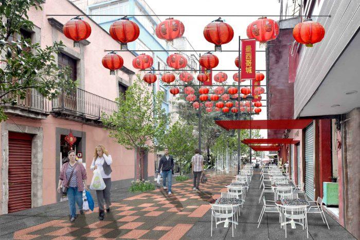 Barrio Chino de la CDMX renueva su imagen para recibir el Año Nuevo