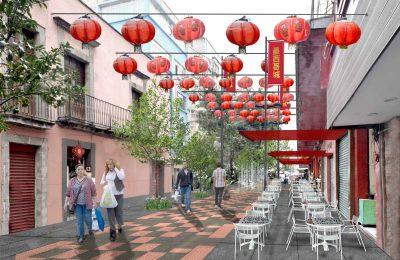 Autoridad del Espacio Público inicia rehabilitación del Barrio Chino en CDMX