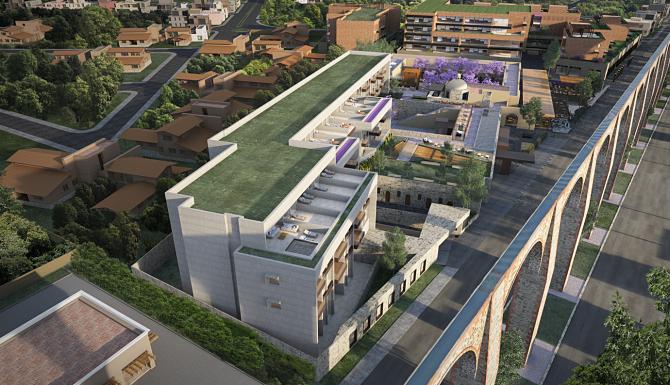 Barrio Santiago en Querétaro estará listo para 2020