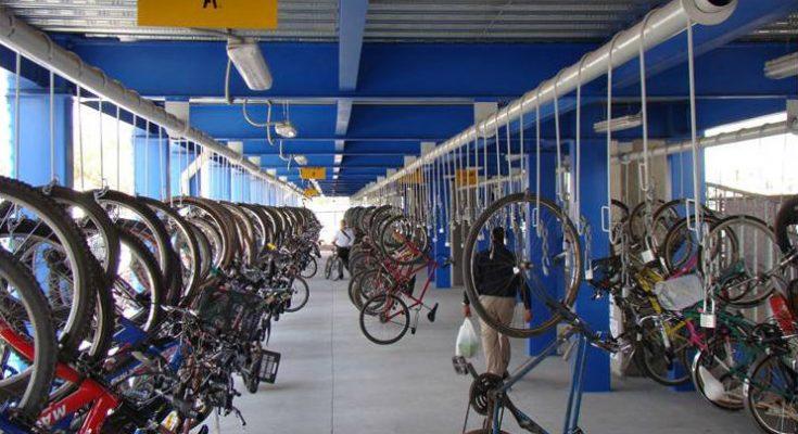 Biciestacionamiento de Buenavista alberga hasta 128 bicicletas