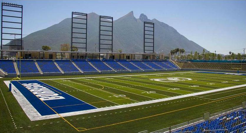 Inauguran Estadio Borregos del Tecnológico de Monterrey