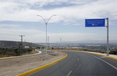 Entregan Boulevard Corregidora-Huimilpan en Querétaro