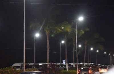 Boulevard de Acapulco Diamante estrena luminarias