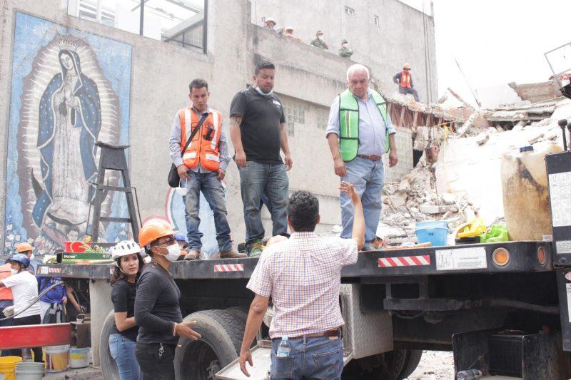Brigadas de la ALDF hacen recorrido y diagnóstico de viviendas