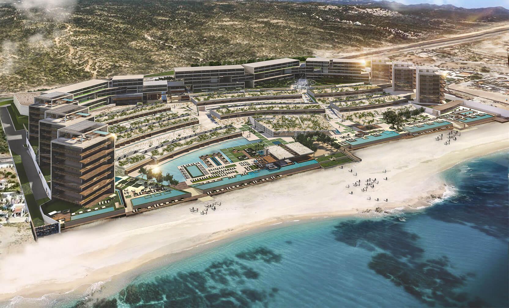 Alistan hotel emblemático en la península de Baja California