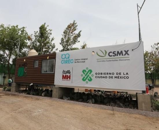 CDMX tendrá seis plantas de reciclaje de residuos de construcción