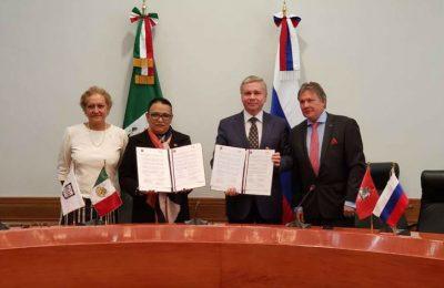 CDMX y Moscú en coordinación por el desarrollo urbano