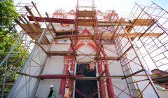 INAH avanza en trabajos de restauración del patrimonio cultural de Chiapas