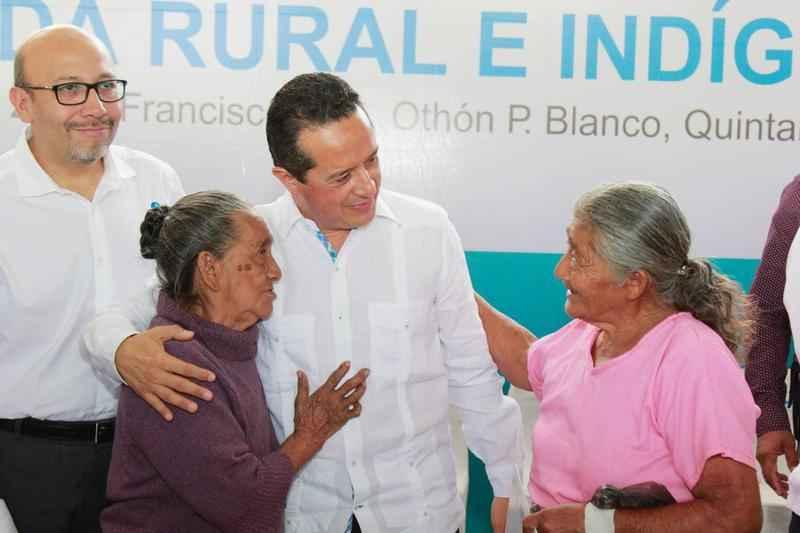 Ponen en marcha programa de vivienda rural en Q. Roo