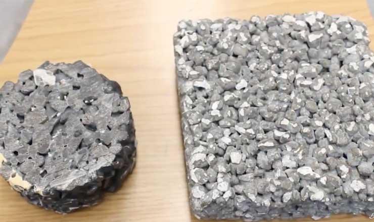 Estudiantes crean concreto que purifica el aire y el agua de lluvia