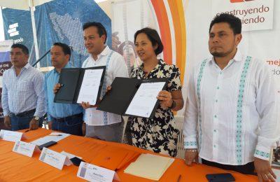 INEA ratifica convenio con Construyendo y Creciendo