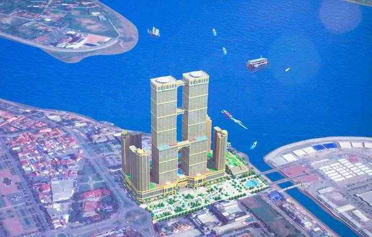 Camboya albergará a las torres gemelas más altas del mundo