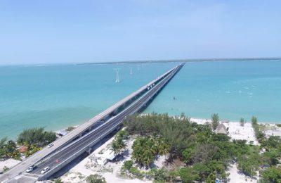 Campeche inaugura segundo puente más largo de México