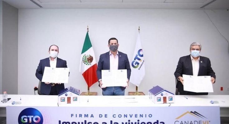 Canadevi y Guanajuato invierten 100 mdp para construcción de vivienda
