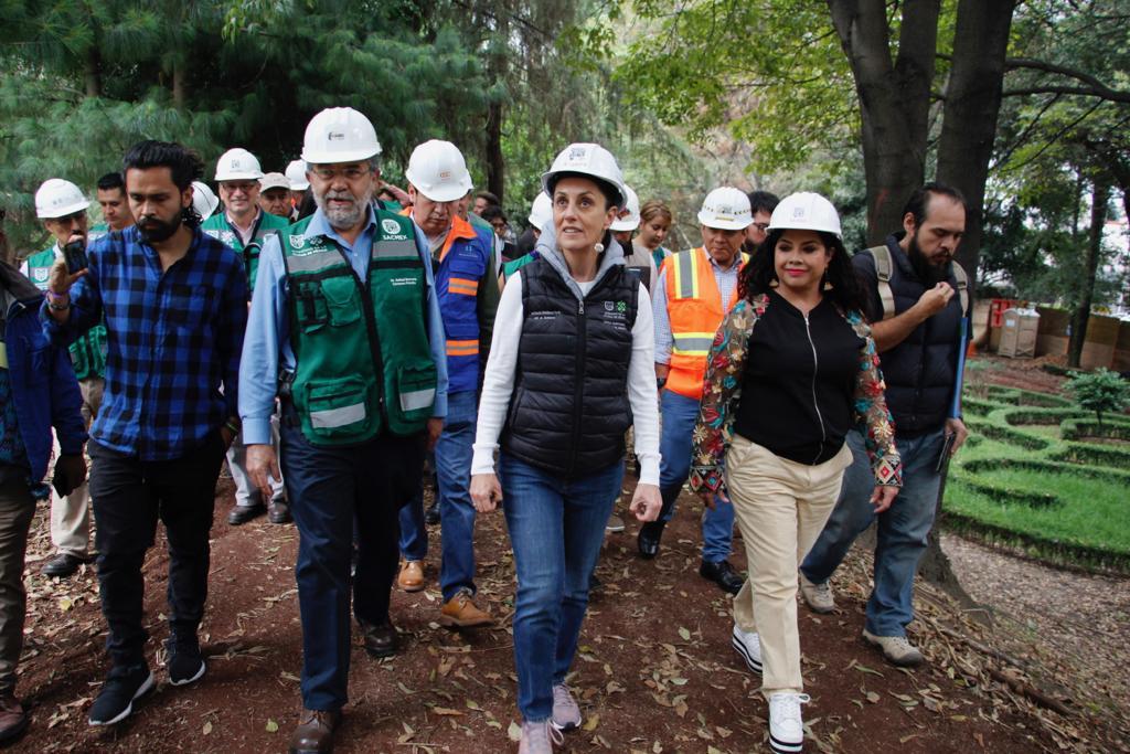 A través de 'Sembrando Parques' se recuperarán 16 espacios públicos en CDMX
