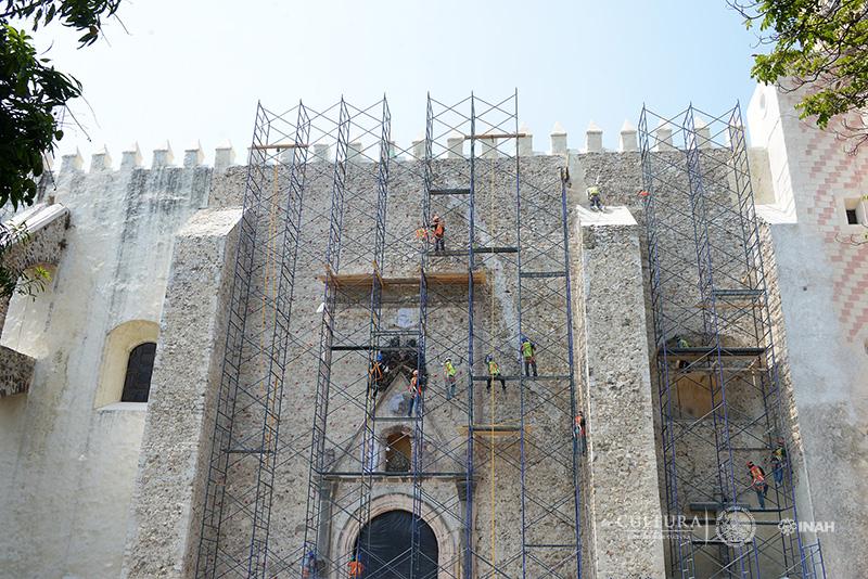 INAH continúa con la recuperación de capillas históricas en Morelos