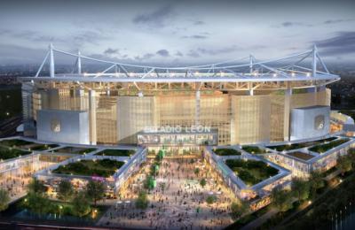 Nuevo estadio de León será único en su estilo