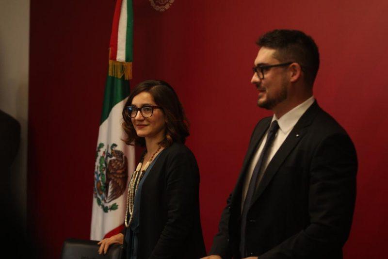 Carina-Arvizu-relevo-subsecretaría