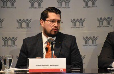 Un Infonavit cercano y eficiente, la meta de Carlos Martínez