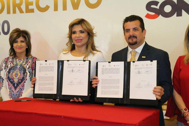 Canadevi y gobierno de Sonora firmaron convenio