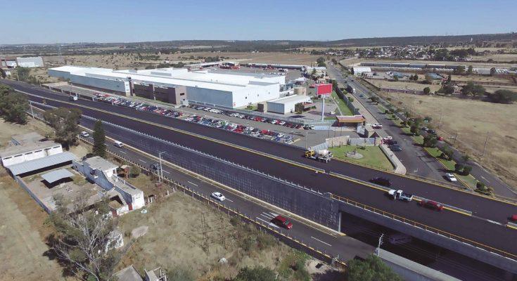 SCT entrega obra carretera en Aguascalientes
